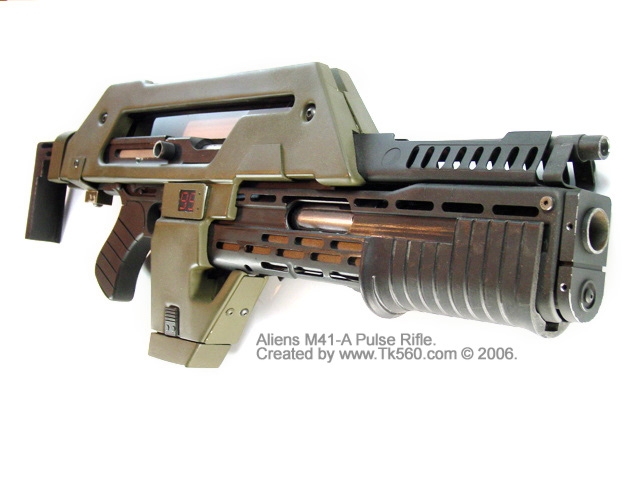 M41-A Pulse Rifle из Чужих